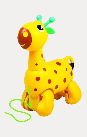 Hamleys | Yellow Giggles Nico the Giraffe