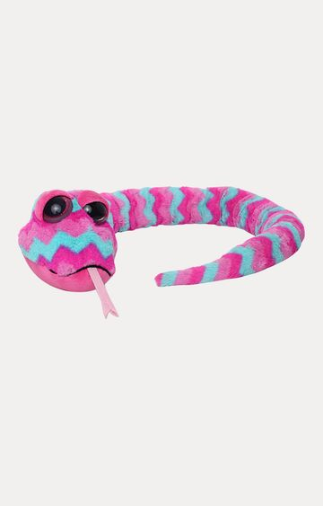 Beados | Pink Keel Sparkle Eye Snakes Soft Toy