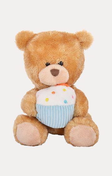 Beados   Keel Toys Brown Pipp Bear Soft Toy
