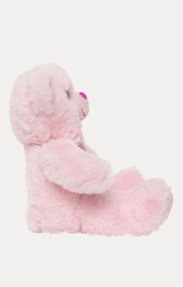 Beados | Pink Gliter GemBear Heart Soft Toy
