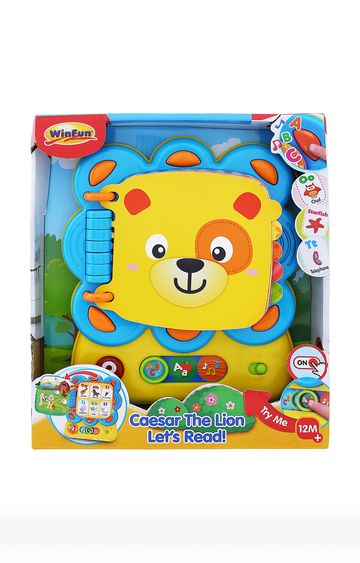 Beados | Caesar The Lion Lets Read Musical Toy
