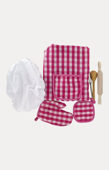 Hamleys | Comdaq Deluxe Chef Apron Mitten Set
