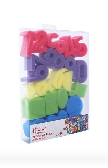 Hamleys | Number And Shapes Sponges