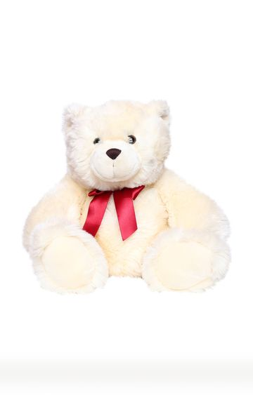 Beados | Off White Ruby Bear Soft Toy
