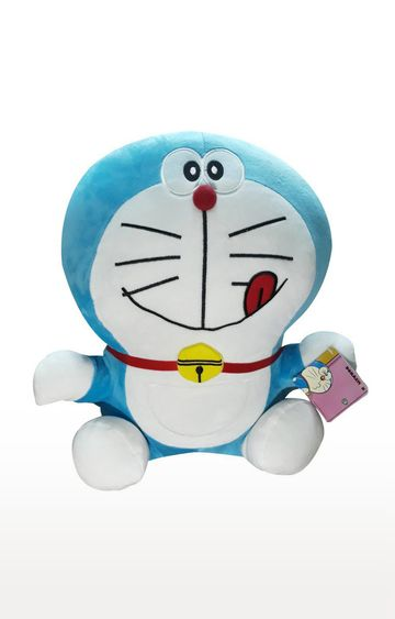 Beados | Doraemon Smiling with Tongue Out Plush - 25cm