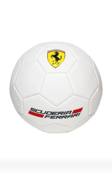Hamleys | Ferrari White Soccer Ball