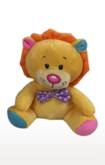 Hamleys | Light Orange Star Walk Lion Plush with Bow