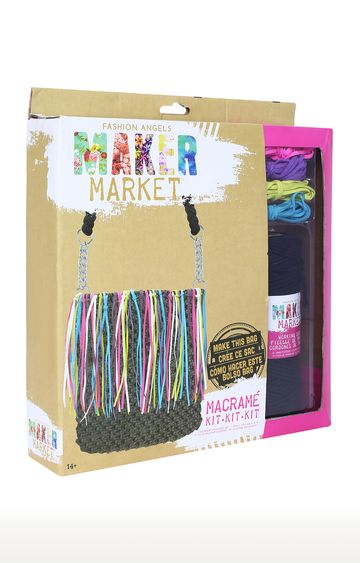 Hamleys | Modern Macrame Bag Kit