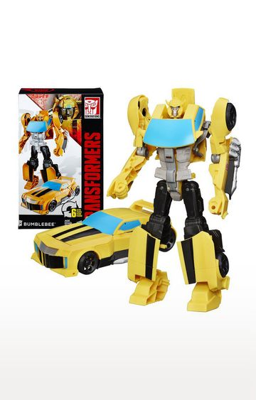 Hamleys | Yellow Transformers Cyber Commander Series Bumblebee