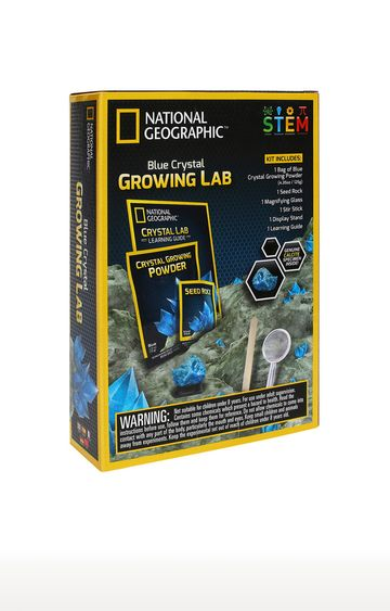 Hamleys | National Geographic Crystal Grow Blue