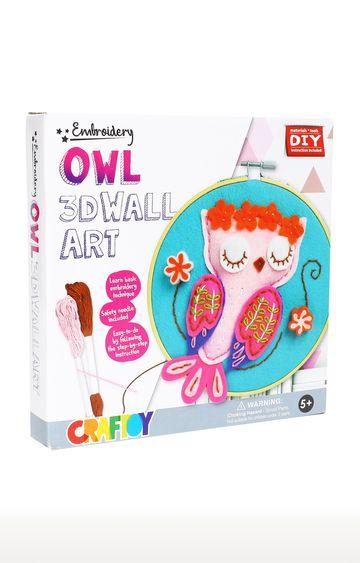 Hamleys | 3D Embroidery Wall Art Owl