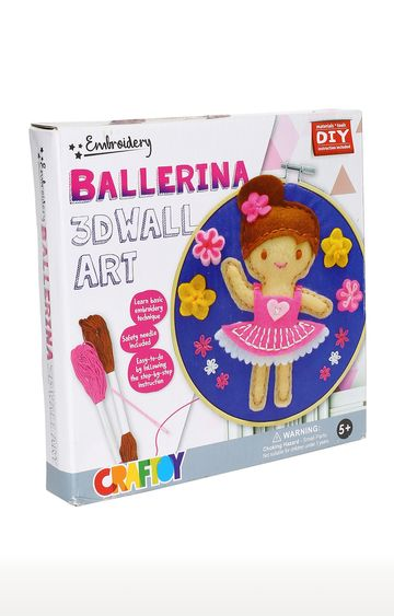 Hamleys | 3D Embroidery Wall Art Ballerina