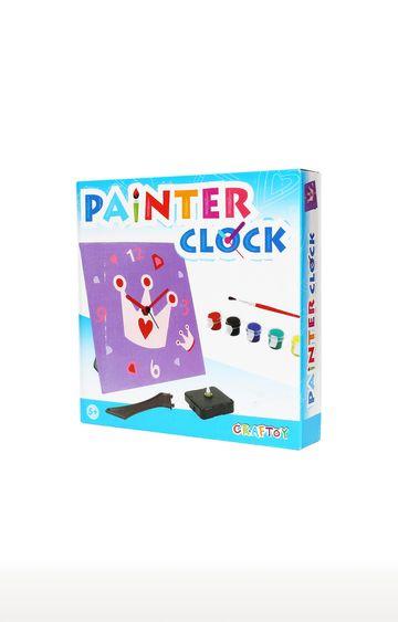 Hamleys | Purple Painter Clock