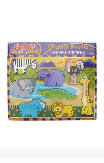 Hamleys | Safari Animals Puzzle Set