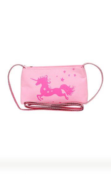 Hamleys   Pink Unicorn Shoulder Bag