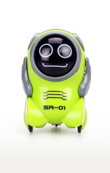 Beados | Green Silverlit Pokibot A Portable Robot with Voice Playback