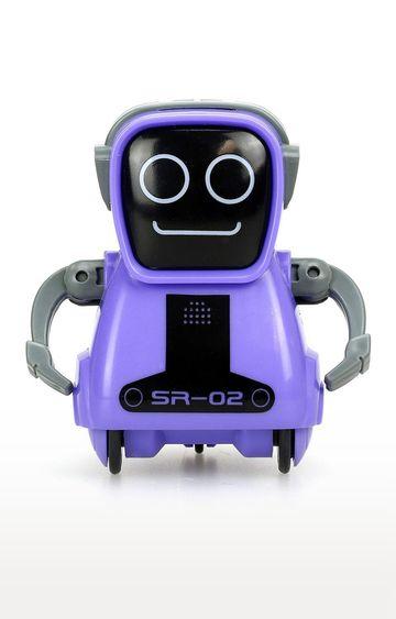 Hamleys   White Silverlit Pokibot A Portable Robot with Voice Playback