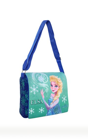 Hamleys | Green Disney Frozen Print Sling Bag