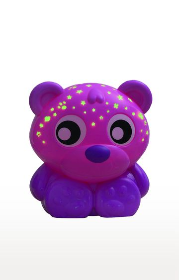 Beados | Pink Playgro Goodnight Bear Night Light and Projector