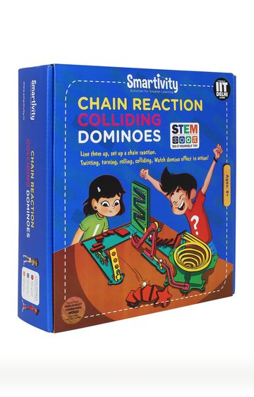 Hamleys | Chain Reaction Colliding Dominoes