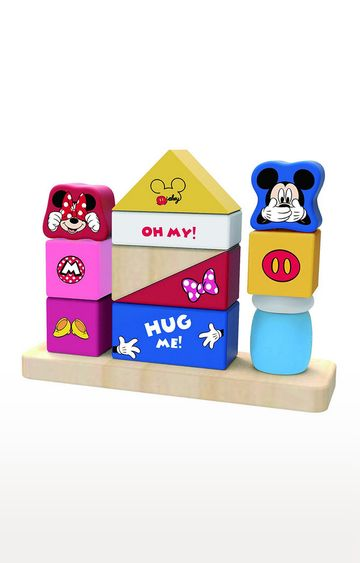 Hamleys   Disney Baby Wooden Blocks