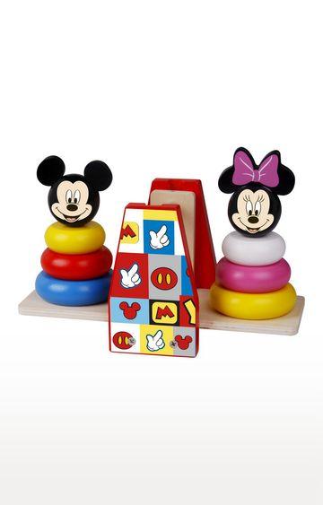 Hamleys   Disney Wooden Balance Stacker