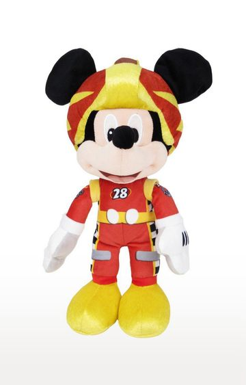 Beados | Disney Mickey in Racing Outfit Softtoy - 10 inch