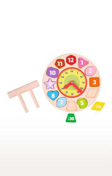 Hamleys | Brainsmith Shape Sorting Clock