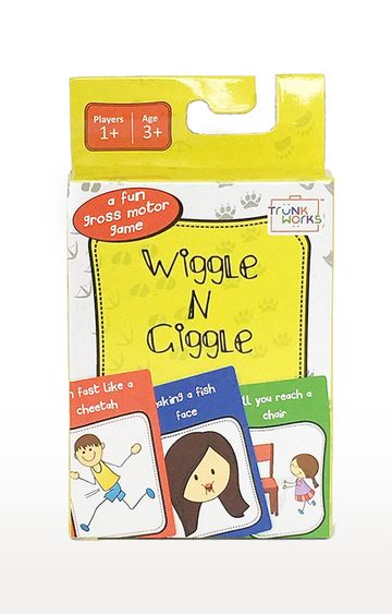 Beados | Trunk Works Wiggle N Giggle Travel Card Game
