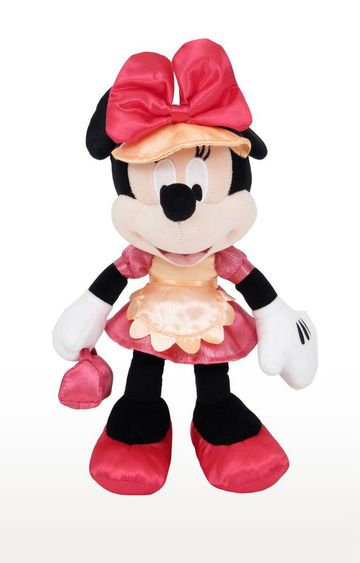Beados | Disney Minnie in Cute Red Dress Outfit Soft Toy
