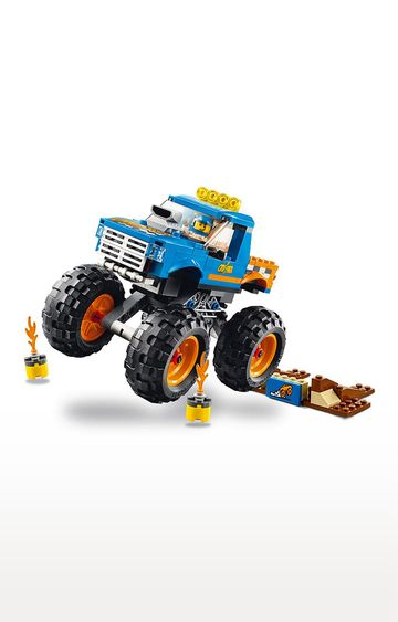 Beados | Lego City Vehicles Monster Truck Building Blocks