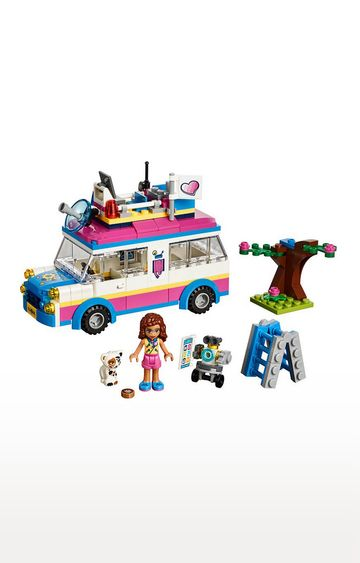 Beados | Lego Friends Olivia's Mission Vehicle Building Blocks