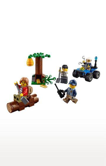 Beados | Lego City Police Mountain Fugitives Building Blocks