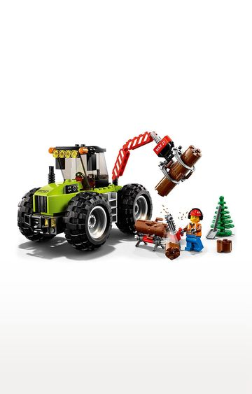 Beados | Lego City Vehicles Forest Tractor Building Blocks