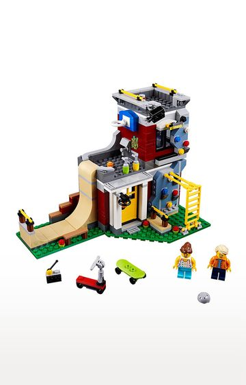 Beados | Lego Creator 3in1 Modular Skate House Building Blocks