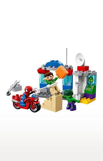 Beados | Lego Duplo Super Heroes Spider-Man and Hulk Adventures Building Blocks