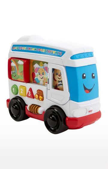 Beados   Fisher-Price Laugh and Learn Around Town Bus