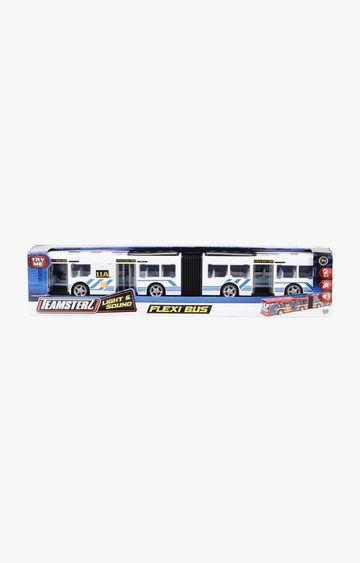 Hamleys | Teamsterz TZ Light and Sound Flexi Bus
