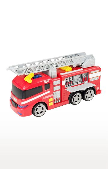 Hamleys | Teamsterz Light and Sound Fire Engine Toy