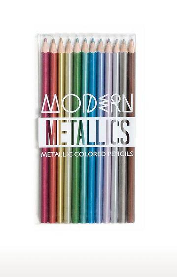 Beados | Ooly Modern Metallic Coloured Pencils - Set of 12