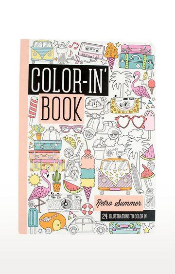 Beados   Color-in Book - Travel Size - Retro Summer