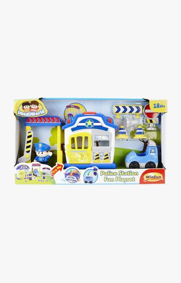 Hamleys | Winfun Police Station Fun Playset