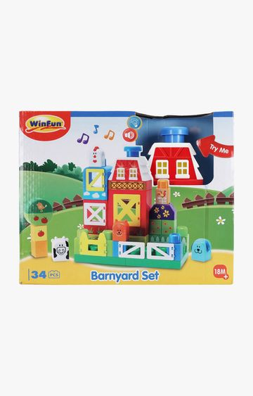 Hamleys | Winfun I-Builder Barnyard Set