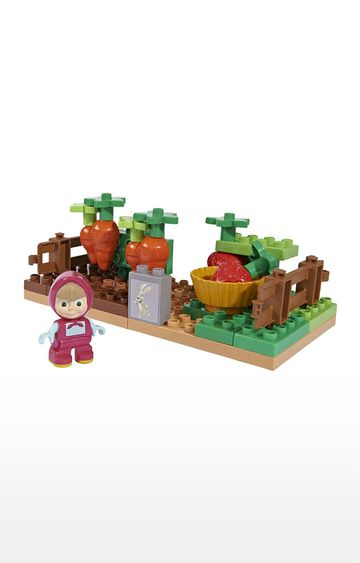 Beados | Masha And The Bear Building Blocks - Masha In The Garden Set