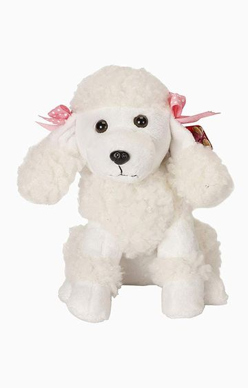 Hamleys | Cuddles Poodle Dog Soft Toy