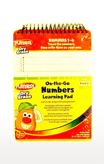 Beados | Playskool On-the-Go Numbers Learning Pad Dry Erase Boards