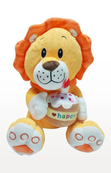 Beados | My Baby Excels Cute Lion with Cupcake Plush