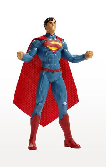 Beados | NJ Croce Justice League New 52 Superman Bendable Figure - 8 inch
