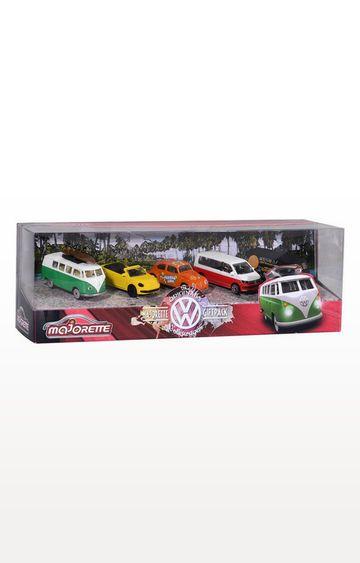 Beados | Majorette VW The Original 5 Pieces Git Pack Car Set