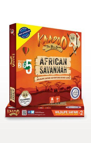 Beados | Kaadoo African Savannah Migration Mania Edition Board Game